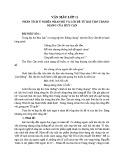 Phân tích ý nghĩa nhan đề và lời đề từ bài thơ Tràng Giang của Huy Cận