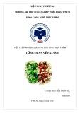 Tiểu luận: Tổng quan về enzyme