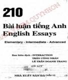 210 bài luận tiếng anh: phần 1 - nxb Đà nẵng