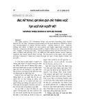 Ứng xử trong gia đình qua các thành ngữ, tục ngữ của người Việt