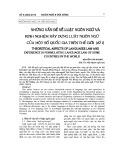 Những vấn đề về luật ngôn ngữ và kinh nghiệm xây dựng luật ngôn ngữ của một số quốc gia trên thế giới (kì 1)