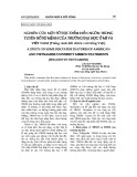 Nghiên cứu một số đặc điểm diễn ngôn trong tuyên bố sứ mệnh của Trường Đại học ở Mỹ và Việt Nam