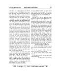 Đối thoại tự thú trong sáng tác của Nguyễn Huy Thiệp