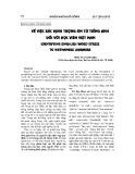 Về việc xác định trọng âm từ tiếng Anh đối với học viên Việt Nam