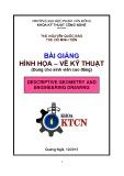 Bài giảng Hình họa vẽ kỹ thuật - ĐH Phạm Văn Đồng (2013)