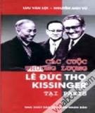 các cuộc thương lượng lê Đức thọ - kissinger tại paris: phần 1 - nxb công an nhân dân