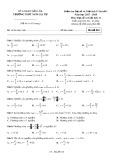Đề kiểm tra 1 tiết bài số 1 môn ĐạisốvàGiảitích lớp11 năm 2017-2018 - THPT Ngô Gia Tự - Mã đề 010