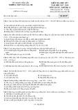 Đề kiểm tra HK 1 môn Lịchsử lớp 12 năm 2017-2018 - THPT Ngô Gia Tự - Mã đề 007