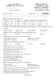 Đề kiểm tra HK 1 môn Địa lí lớp 11 năm 2017-2018 - THPT Ngô Gia Tự - Mã đề 008