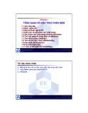 Bài giảng Kiến trúc phần mềm: Chương 1 - TS. Nguyễn Văn Hiệp