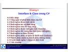 Bài giảng môn Lập trình hướng đối tượng: Chương 4 - TS. Nguyễn Văn Hiệp