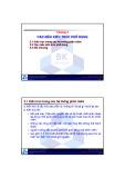 Bài giảng Kiến trúc phần mềm: Chương 3 - TS. Nguyễn Văn Hiệp