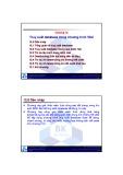 Bài giảng môn Lập trình hướng đối tượng: Chương 12 - TS. Nguyễn Văn Hiệp