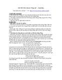 Chuyên đề 6: Bài thơ Đồng chí