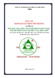 Báo cáo Đánh giá tác động môi trường của Dự án Nhà máy gia công sang chai đóng gói và kinh doanh thuốc bảo vệ thực vật, phân bón
