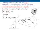 Bài giảng Tính toán thiết kế ô tô: Chương 7 - Truyền lực chính