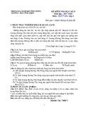 Đề thi học kỳ 2 môn Ngữ Văn lớp 6 năm 2018 có đáp án - Trường THCS Vĩnh Thịnh