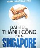 bài học thành công của singapore: phần 1