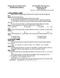 Đề thi học kì 2 môn Hóa lớp 9 năm 2017-2018 có đáp án - Trường THCS Phú Đa