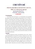 Chuyên đề: Phương pháp rèn luyện kĩ năng làm văn miêu tả cảnh cho học sinh lớp 6