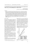 Xác định hàm tương quan dự báo chỉ số nén lún từ một số chỉ tiêu cơ lý của đất dính khu vực Thái Nguyên