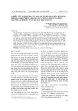 Nghiên cứu ảnh hưởng của một số tổ hợp phân bón đến sinh trưởng, phát triển, năng suất và chất lượng của giống ngô nếp lai HN88 vụ xuân 2014 tại Thái Nguyên