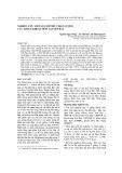 Nghiên cứu một số chỉ tiêu chất lượng các giống khoai môn tại Yên Bái