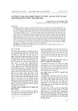 Vai trò của doanh nghiệp trong tổ chức lại sản xuất ngành chè tỉnh Thái Nguyên, tầm nhìn 2020
