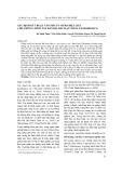 Xác định kỹ thuật vào mẫu in vitro hiệu quả cho giống chuối tây bản địa Bắc Kạn (musa x paradisiaca)