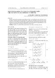 Phân tích dao động của tấm có cơ tính biến thiên chịu tác dụng của lực khí động và nhiệt độ