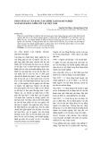 Phân tích sự cân bằng tài chính tại doanh nghiệp ngành xi măng niêm yết tại Việt Nam