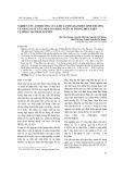Nghiên cứu ảnh hưởng của liều lượng đạm đến sinh trưởng và năng suất của một số giống ngô lai trong điều kiện vụ đông tại Thái Nguyên