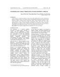 Synthesis and characterization of iron dextrin copmlex