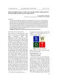 Phân tích hiện trạng và đề xuất giải pháp phát triển kinh tế du lịch Thái Nguyên qua ma trận SWOT