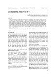 Xác định phenol trong dung dịch bằng phương pháp chiết – sắc kí