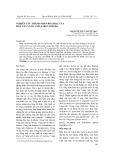 Nghiên cứu thành phần hóa học của hoa cây vàng anh (Saraca dives)
