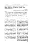 Khảo sát thực trạng văn hóa ứng xử của sinh viên trường Đại học Công nghệ Thông tin và Truyền thông - Đại học Thái Nguyên