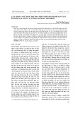 Lựa chọn và sử dụng phương pháp phân bổ chi phí sản xuất kết hợp tại Công ty cổ phần xi măng Thái Bình