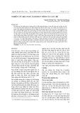 Nghiên cứu khả năng tái sinh in vitro của cây chè