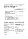 Đánh giá hiệu quả biện pháp can thiệp nhằm giảm tỷ lệ nhiễm giun kim ở trẻ em và ngoại cảnh tại ba trường mầm non Liên Bảo, Hoa Sen và Ngô Quyền, thành phố Vĩnh Yên, tỉnh Vĩnh Phúc