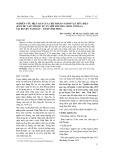 Nghiên cứu hiệu quả của chế phẩm vi sinh vật hữu hiệu (EM thứ cấp) trong xử lý môi trường