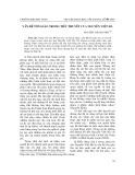 Vấn đề tôn giáo trong tiểu thuyết của Nguyễn Việt Hà