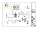 Bản vẽ Hệ thống xử lý nước cấp 230m3
