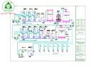 Bản vẽ Hệ thống xử lý nước cấp 12m3 - model 02