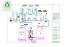 Bản vẽ Hệ thống xử lý nước cấp 12m3