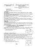 Đề kiểm tra HK 1 môn Vật lý lớp 11 năm 2012 - THPT Nguyễn Văn Khải