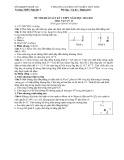 Đề thi HK 2 môn Vật lý lớp 11 năm 2010 - THPT Nghi Lộc 2
