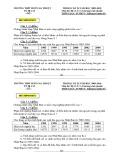 Đề thi HK 2 môn Địa lý lớp 11 năm 2009-2010 - THPT Buôn Ma Thuột
