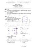 Đề thi HK V môn Điện tử công suất lớp Cao đẳng - CĐKT Cao Thắng