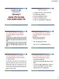 Bài giảng Quản trị ngân hàng thương mại: Chương 5 - Đại học Văn Hiến